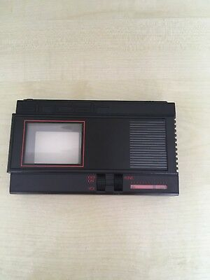 Vintage Sinclair Flat Screen Pocket Tv With 2 Inch Screen Untested