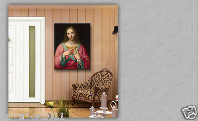 Catholic Church Portrait Jesus Christian Blessed Elegant Classical Painting