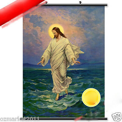 Catholic Church Portrait Jesus Christian Blessed Beautiful High-Grade Painting