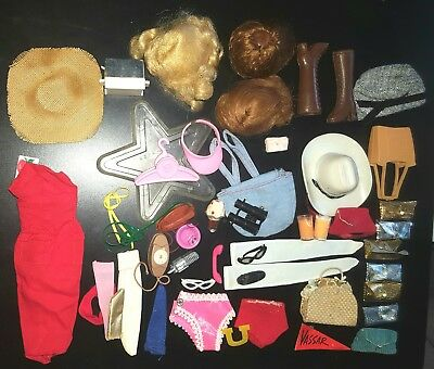 Vintage Barbie Mixed Lot Of Tcl Items!