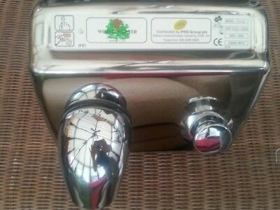 World Hand Dryer Chrome Used