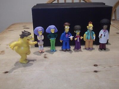 "The Simpsons Figures Greetings from Springfield Series 6 ""THE WAY WE WERE."" LOT"