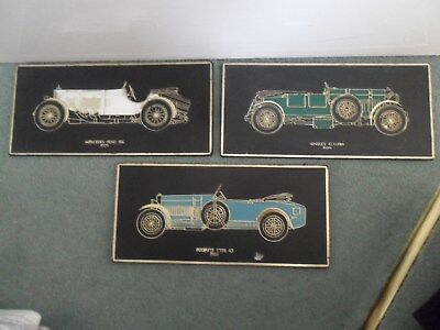 Barn Find Vintage Car Wall Plaques