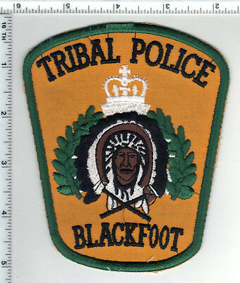 Blackfoot Tribal Police (Montana)  Shoulder Patch from the 1980's