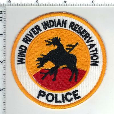 Wind River Indian Reservation Police (Wyoming) Shoulder Patch from the 1980's