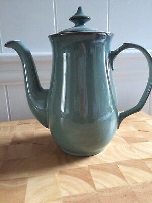 Denby Regency Green Coffee Pot
