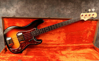 1962 Fender Precision - Sunburst - Ohsc - Museum Condition - Andy Baxter Bass
