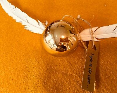Harry Potter Golden Snitch Christmas Bauble
