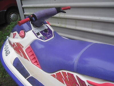 seadoo xp 650 twin carb j jet ski broke  blown engine  none runner spares repair