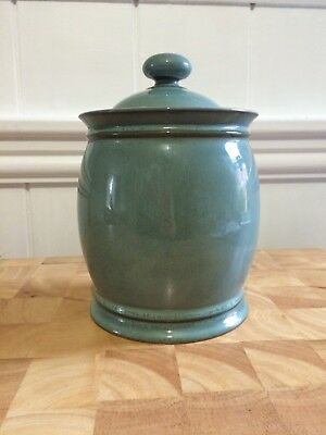 Denby Regency Green Cookie Jar