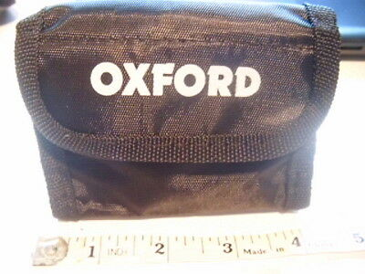 Oxford motorcycle lock case.