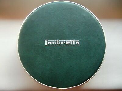 Green/ Cream Embroided Scooter Wheel Cover