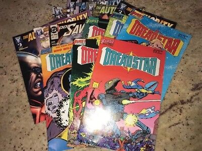 13 Pc Comic Book Lot Deadstar #27-32 The Authority Prime #1-6 Doc Savage