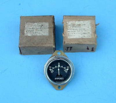 VINTAGE 1940s / 50s FORD CAR DASHBOARD AMMETER UNUSED IN BOX