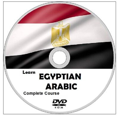 Learn  EGYPTIAN ARABIC COMPLETE LANGUAGE COURSE CD MP3 AUDIO PDF TEXTBOOKS