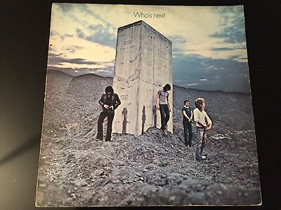 "THE WHO ""WHO'S NEXT"" 1971 UK TRACK LP 1st PRESS A1/B2"