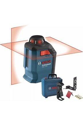 Bosch Tools GLL 2-20 360 Degree Self-Leveling Line and Cross Laser New