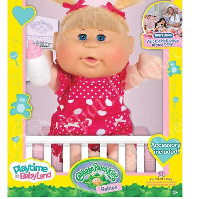 Cabbage Patch Kids Assortment (3+ Years) - Blonde Baby Girl With Pigtails