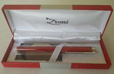a07b654343f7 Fountain Pen with Ink Refill Converter and Gift Box - Million Dollar Red