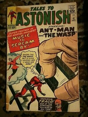 Tales to Astonish #47 Ant Man Wasp