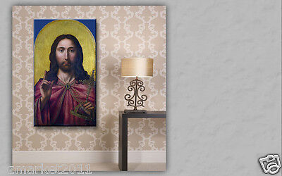 Catholic Church Portrait Jesus Christian Blessed Simple Classical Art Painting
