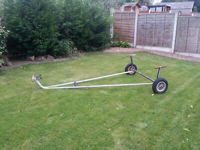 Genuine Laser Dinghy / boat launching trolley