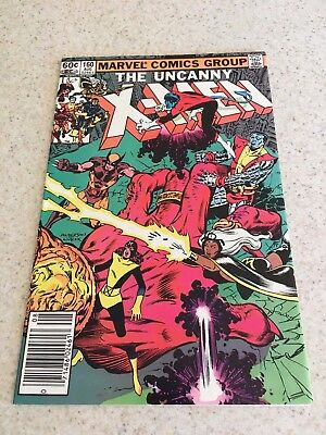 Uncanny X-Men  160  VF+  8.5   High Grade    Wolverine  Cyclops  Storm