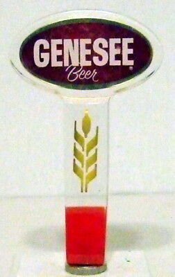 Genesee Acrylic Lucite 2-Side Beer Tap Handle