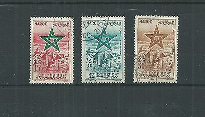 Morocco 1957 Air Set Fine Used