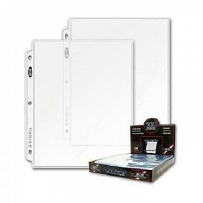 BCW Pro 1-Pocket Pages (100 Ct. Box) - 100 Pages Per Box. Free Shipping