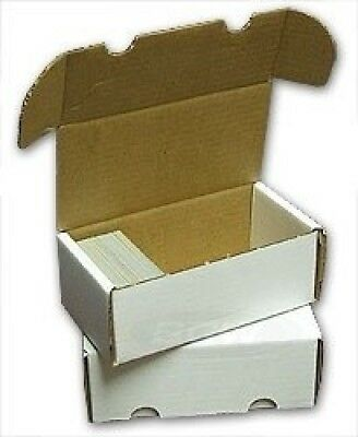 BCW-400 Count Storage Box (Qty = 10). Collector's Supply co. Brand New