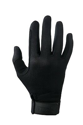 (5, Black) - Noble Outfitters Perfect Fit Mesh Glove. Huge Saving