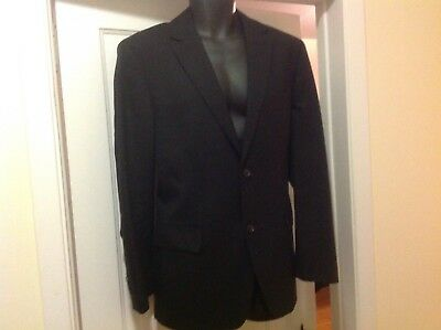 Hugo Boss Black Blazer Suit Jacket Sz 40 2 Button Harry Rosen