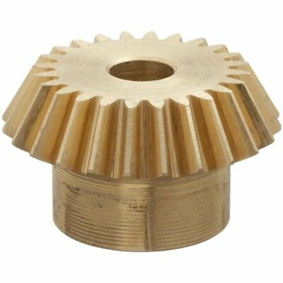 """G487Y-P Bevel & Miter Gears Pinion Gear, 2:1 Ratio, 0.250"""" Bore, 24 Pitch, 20"""