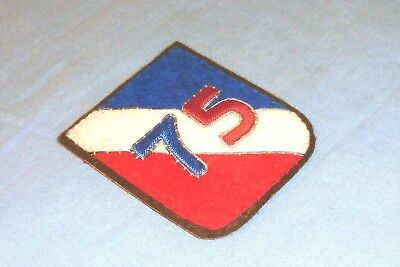 Bullion German Made 75th Infantry Division Hand Embroidered patch