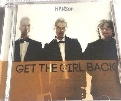 Hanson Rare Get The Girl Back Promo CD