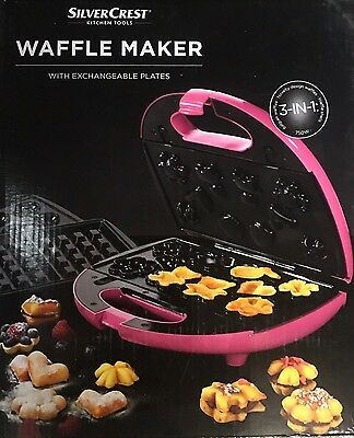 Waffle Maker 3 In 1 Pink
