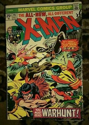 X-men 95 Key Issue Death of Thunderbird & 3rd Appearance New Lineup