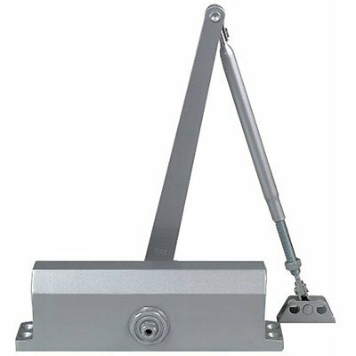 Commercial Door Closers In Aluminum With Backcheck Size