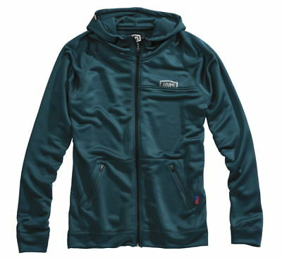 100% Union Zip Up Hoody MX Powersports Motorcycle