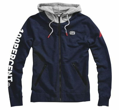 100% Hiatus Zip Up Hoody MX Powersports Motorcycle