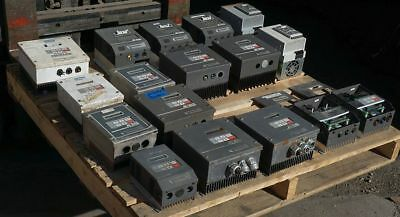 AC-TECH-LEESON-LENZE-VFD-Lot-Inverter-Variable-Frequency-Drives 1-10 HP