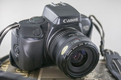 Canon eos 750 35 mm film camera with 35/70 mm and 28/80 mm E F lens's