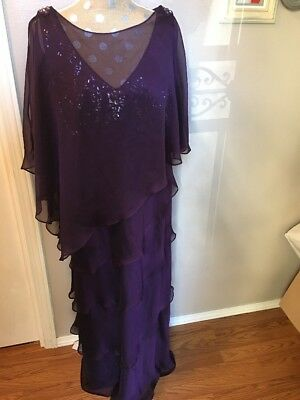 Mother of the Bride dress, Davids Bridal, Ignite Dress, Size 16W