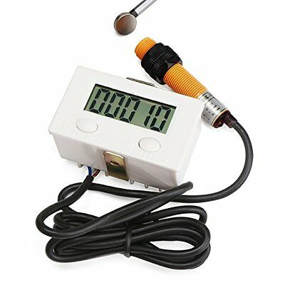 LCD Current Testers Digital Tally Counter 0-99999 Forward Panel Gauge Digits