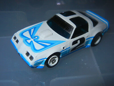 Aurora #2 Firebird G+ Chassis Slot Car
