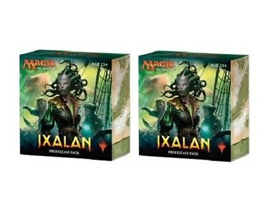 MAGIC Ixalan PRERELEASE PACKS 2 Box Lot MTG PRE RELEASE KIT 2017 FACTORY SEALED