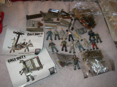 Mega Bloks Call of Duty Collector Construction Sets - Zombies Horde & more