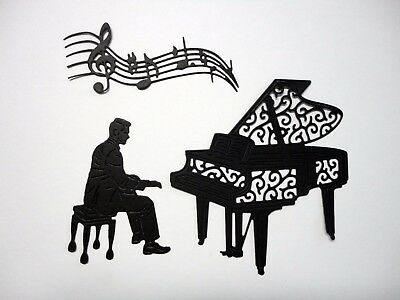 Piano Man Die Cut - 2 Sets