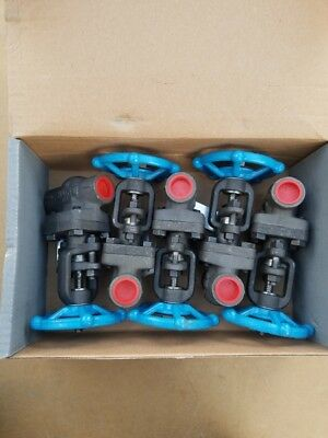 "NEW!! Lot of (5) 1/2 "" 0800 Smith Forged Steel Gate Valves body A105"